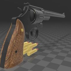 sw-xxL-3.JPG Download 3MF file SMITH & WESSON 27/xxl • 3D printing model, Wij
