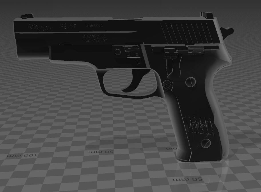 SigSauerP226-2.jpg Download free 3MF file SIG SAUER P226 • Design to 3D print, Wij