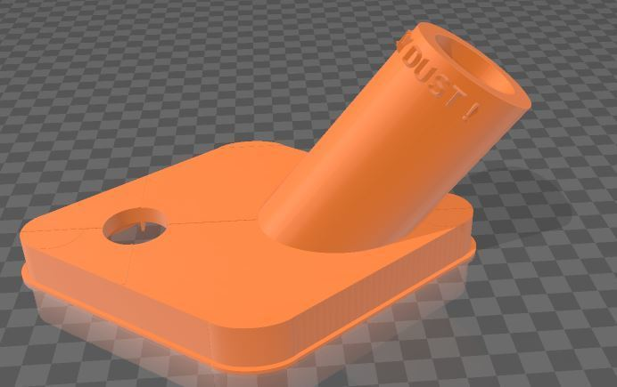 Duster.JPG Télécharger fichier 3MF gratuit Capteur de poussière de forage • Objet à imprimer en 3D, Wij
