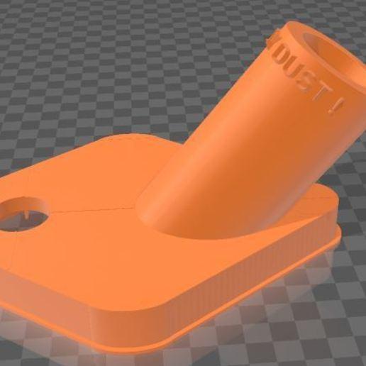Télécharger fichier 3MF gratuit Capteur de poussière de forage • Objet à imprimer en 3D, Wij