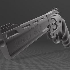 Imprimir en 3D gratis Tauro Toro Furioso .44, Wij