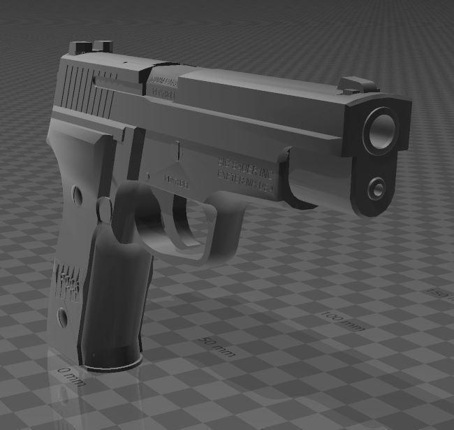 SigSauerP226-4.jpg Download free 3MF file SIG SAUER P226 • Design to 3D print, Wij