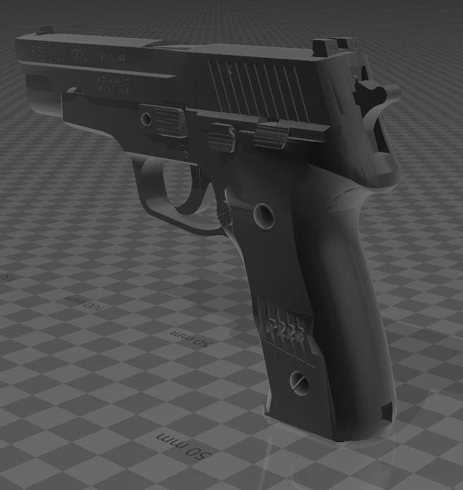 SigSauerP226-7.jpg Download free 3MF file SIG SAUER P226 • Design to 3D print, Wij