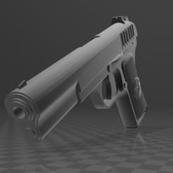 Download free 3D printing files Tokarev TT33, Wij