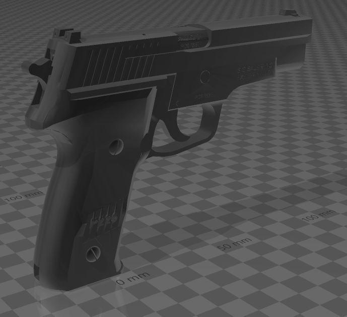 SigSauerP226-5.jpg Download free 3MF file SIG SAUER P226 • Design to 3D print, Wij
