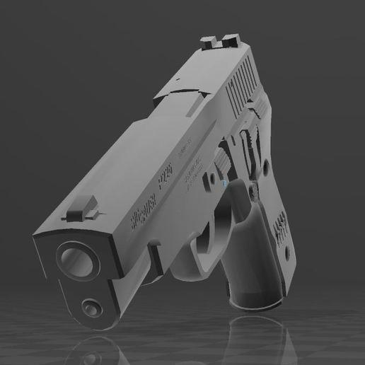 SigSauerP226-1.jpg Download free 3MF file SIG SAUER P226 • Design to 3D print, Wij