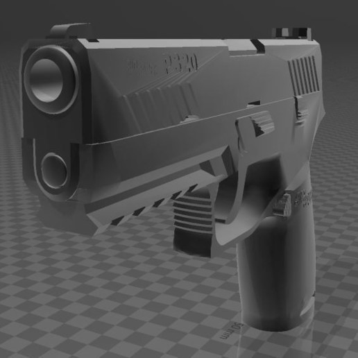 SIG SAUER P320c-3.JPG Download free 3MF file SIG SAUER P320c • 3D printable model, Wij