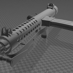 Download free 3MF file Sterling Submachine Gun • 3D print design, Wij