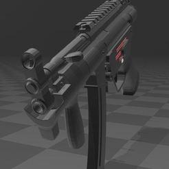 Download free 3D printing models Heckler Koch SP5 K, Wij