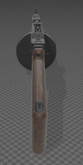 THOMPSON-GUN-7.JPG Télécharger fichier 3MF gratuit Pistolet Thompson avec tambour • Design pour imprimante 3D, Wij
