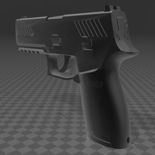 SIG SAUER P320c-7.JPG Download free 3MF file SIG SAUER P320c • 3D printable model, Wij