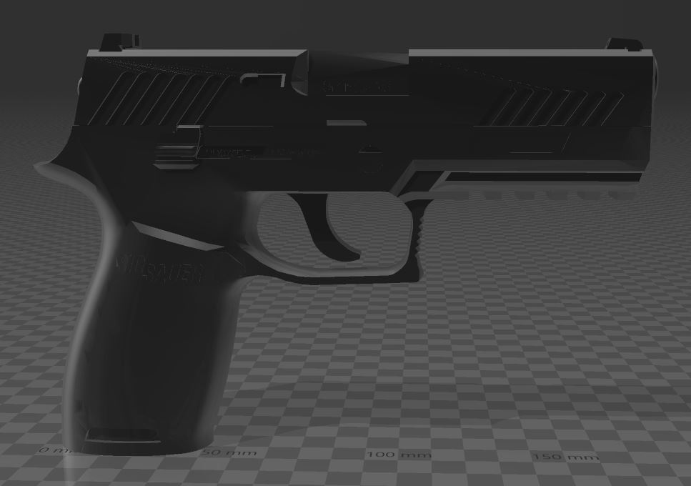 SIG SAUER P320c-5.JPG Download free 3MF file SIG SAUER P320c • 3D printable model, Wij