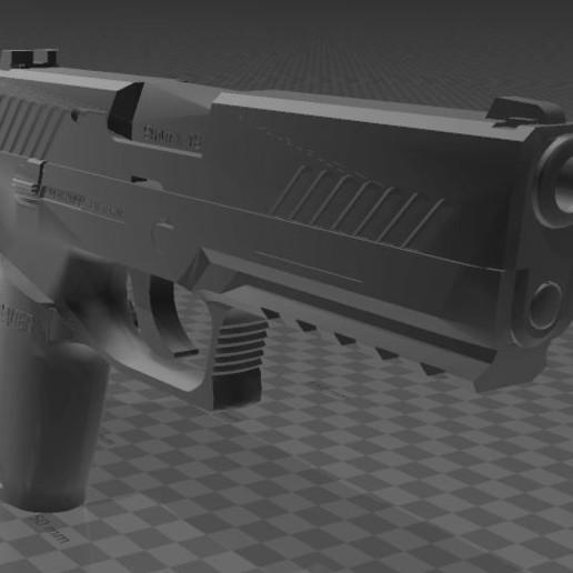 SIG SAUER P320c-4.JPG Download free 3MF file SIG SAUER P320c • 3D printable model, Wij