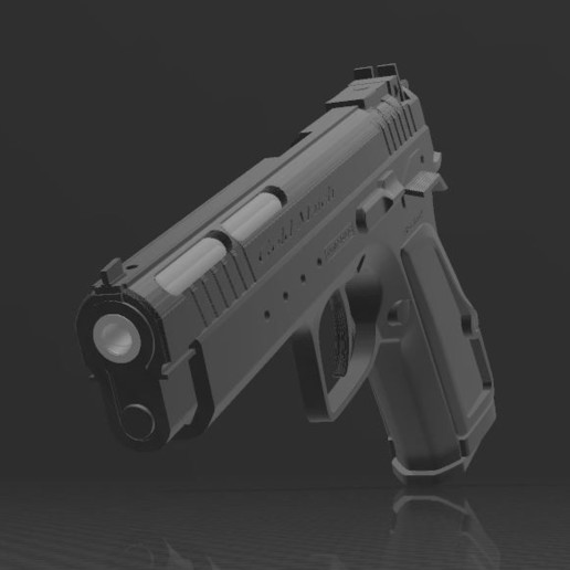 Download free 3MF file Tanfoglio Gold Match • 3D printable object, Wij