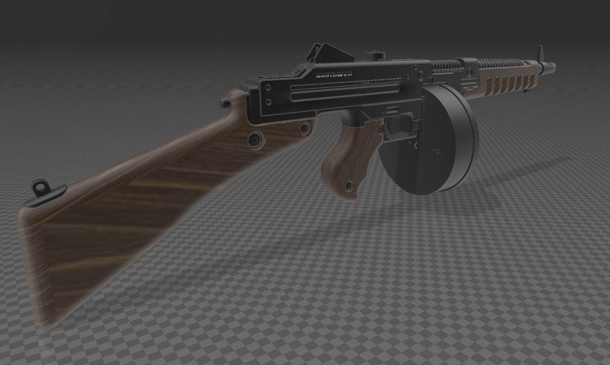 THOMPSON-GUN-6.JPG Télécharger fichier 3MF gratuit Pistolet Thompson avec tambour • Design pour imprimante 3D, Wij