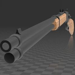 1892 Winchester Rifle-1.JPG Télécharger fichier 3MF gratuit Fusil Winchester 1892 • Modèle à imprimer en 3D, Wij