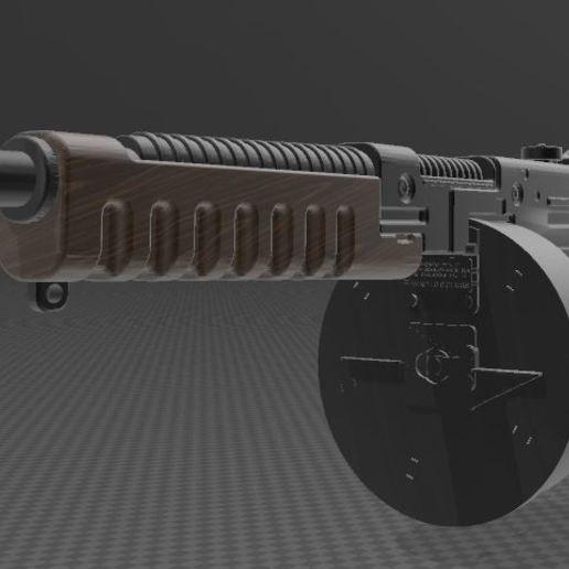 THOMPSON-GUN-2.JPG Télécharger fichier 3MF gratuit Pistolet Thompson avec tambour • Design pour imprimante 3D, Wij