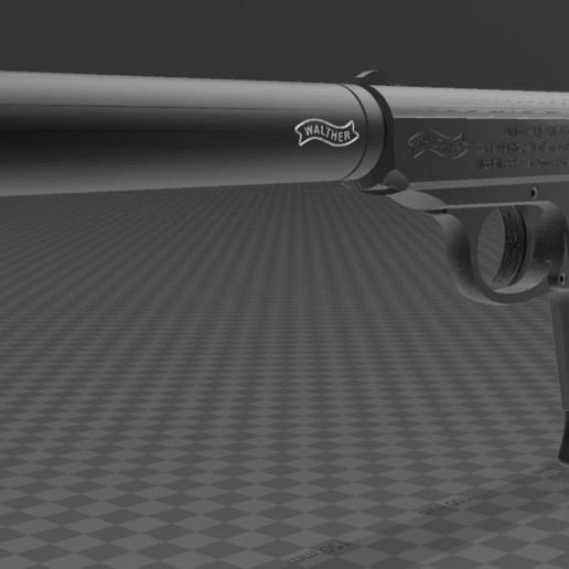 Walther-PPK-2.JPG Download free 3MF file Walther PPk with suppressor • 3D print model, Wij