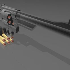 Download free 3D model SMITH & WESSON 27/2, Wij