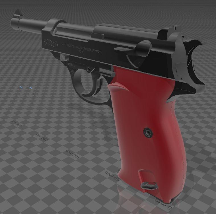Walther-P38-5.JPG Télécharger fichier 3MF gratuit Walther P38 • Modèle imprimable en 3D, Wij