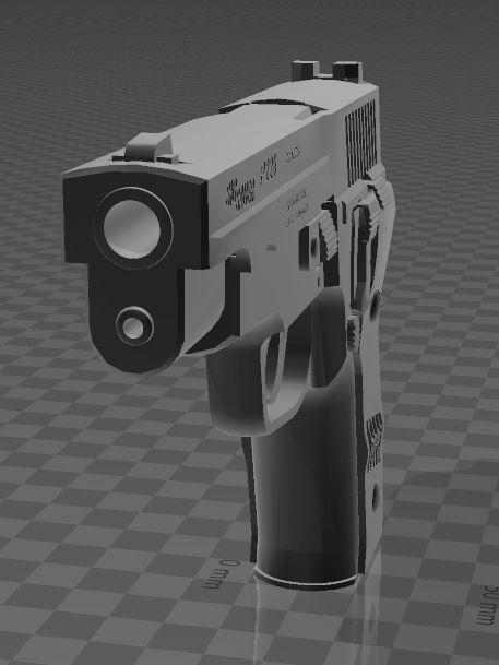 SigSauerP226-3.jpg Download free 3MF file SIG SAUER P226 • Design to 3D print, Wij