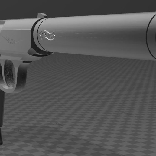 Walther-PPK-3.JPG Download free 3MF file Walther PPk with suppressor • 3D print model, Wij