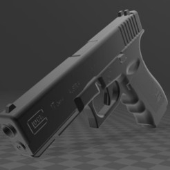 Glock-17-1.JPG Download free 3MF file GLOCK 17 • Model to 3D print, Wij