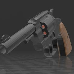 Colt 38 police special_1.JPG Download free 3MF file Colt 38 Police Special • Template to 3D print, Wij