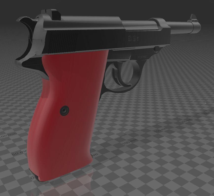 Walther-P38-4.JPG Télécharger fichier 3MF gratuit Walther P38 • Modèle imprimable en 3D, Wij