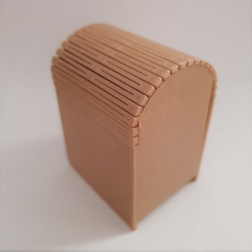 WhatsApp Image 2020-09-27 at 7.02.09 PM.jpeg Download STL file Living hinge box #1 • Design to 3D print, the-lazy-engineer