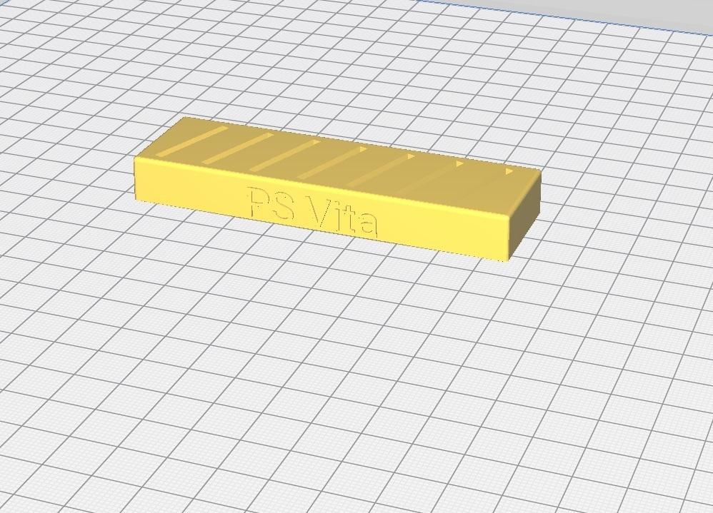 PS_VIta_Cardholder.jpg Download free STL file PS Vita Cardholder • 3D printing design, timetravelerfrom2424
