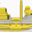 Download 3D printer designs Boat Thousand sunny One piece, boenns