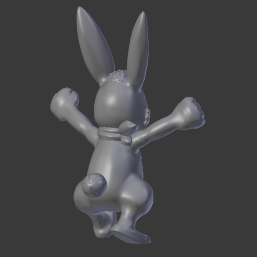 Capture2.PNG Download free STL file Hare - Monster Rancher • 3D printer object, dloa376