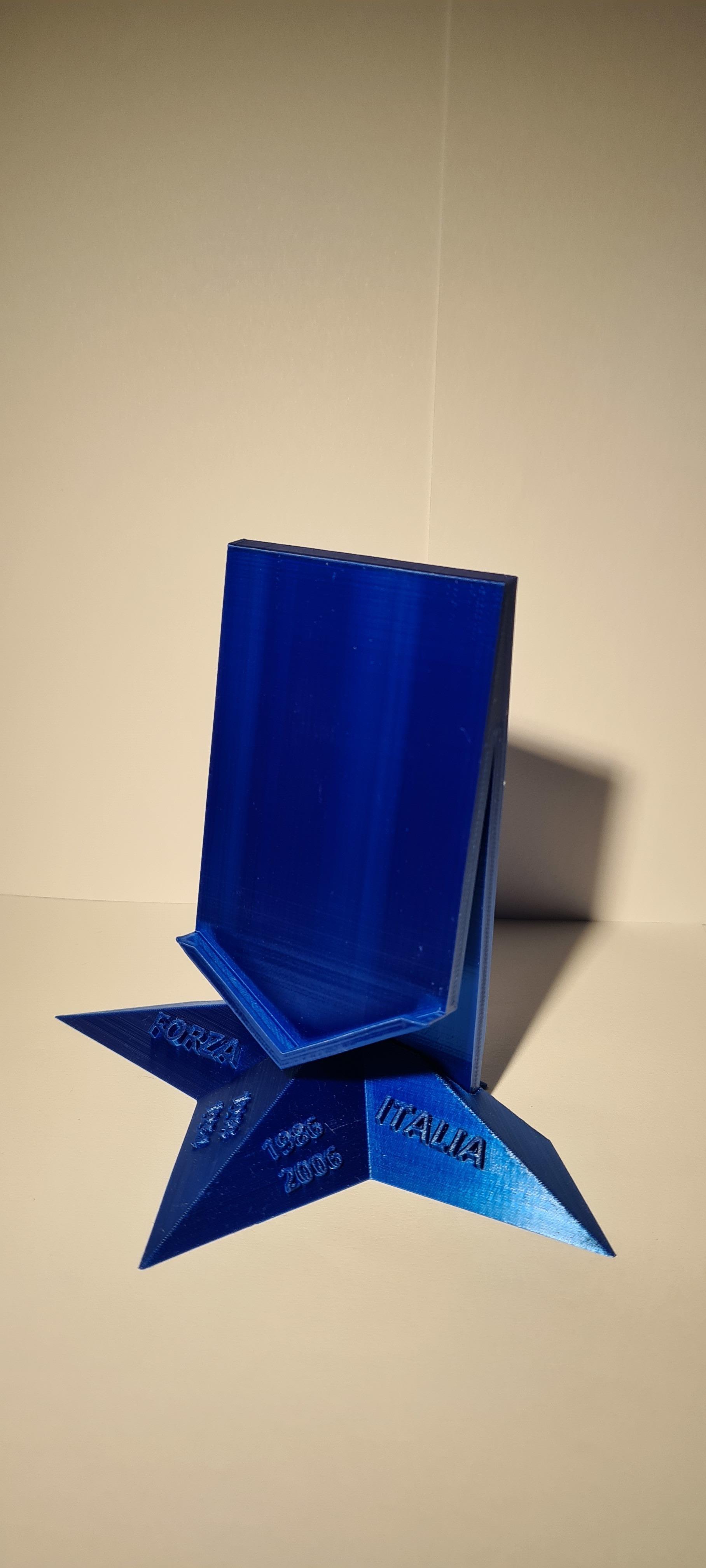 20201017_161943.jpg Télécharger fichier STL Logo italia figc • Objet imprimable en 3D, zimatera