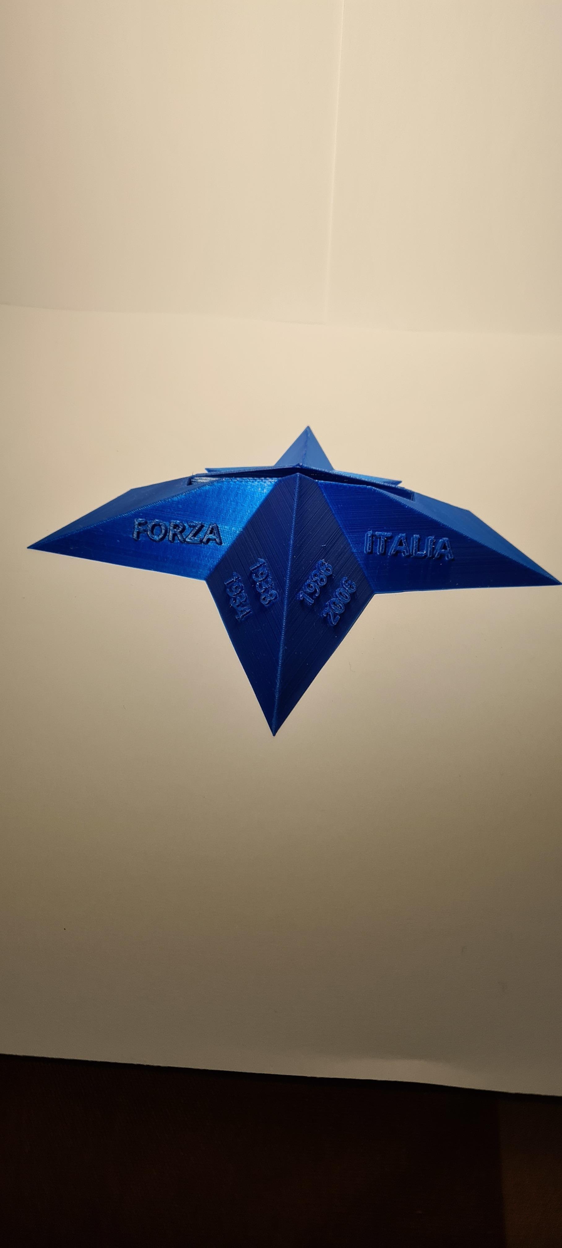 20201017_161852.jpg Télécharger fichier STL Logo italia figc • Objet imprimable en 3D, zimatera