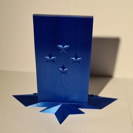 20201017_162018.jpg Télécharger fichier STL Logo italia figc • Objet imprimable en 3D, zimatera
