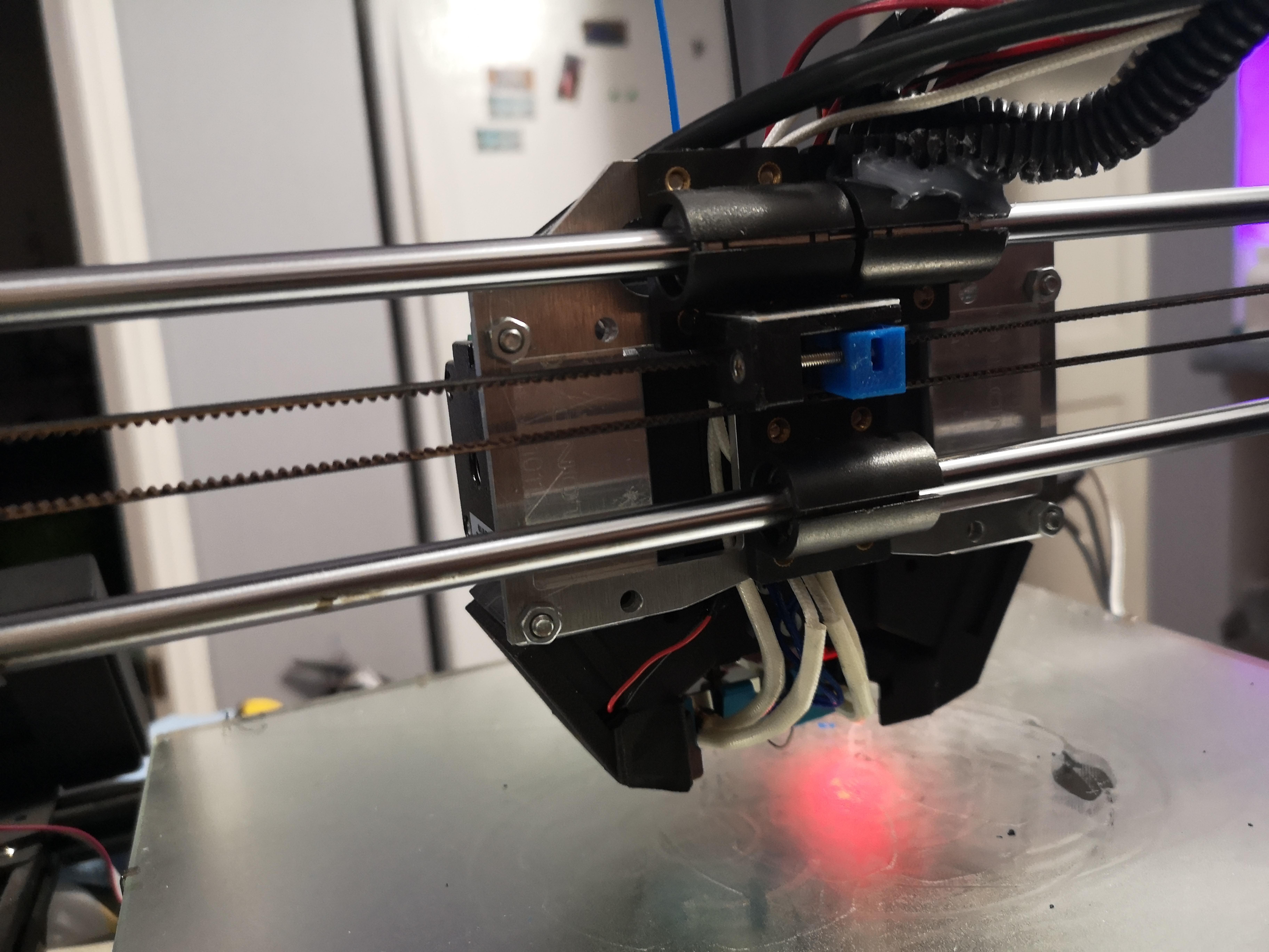 IMG_20200906_044839.jpg Télécharger fichier STL Plaque de montage Anet A8 Plus Bondtech BMG X2 • Plan pour impression 3D, Junction_Runner