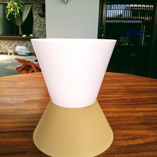 Download free 3D printer files Conic Planter, dgarcias