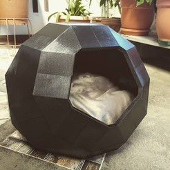 Download 3D print files Cat house TAO (also for dogs), dgarcias