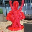 Download free 3D printer files DeadPool Bust, Mak3Me