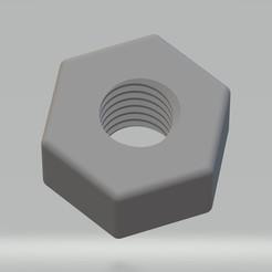 Ecrou M5x0.8.jpg Télécharger fichier STL Ecrou M5x0.8 • Objet imprimable en 3D, cedricpct1