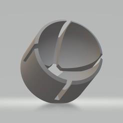 Réceptacle rotule.jpg Télécharger fichier STL Réceptacle rotule de triangle pour buggie • Modèle imprimable en 3D, cedricpct1