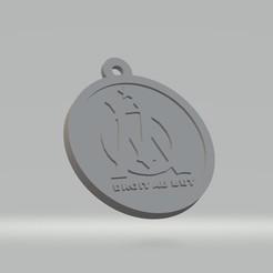 Porte clés OM.jpg Télécharger fichier STL Porte clés OM • Design pour impression 3D, cedricpct1