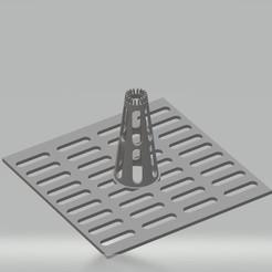 Grille frelons.jpg Download STL file Grid for hornet trap • 3D printable design, cedricpct1