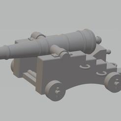 Canon 1.jpg Télécharger fichier STL Canon de navire de guerre • Modèle pour impression 3D, cedricpct1