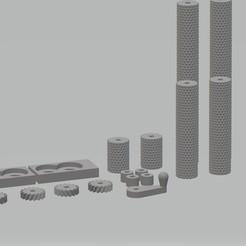 gaufreur à cire.jpg Download STL file Beeswax foil embosser • 3D printable template, cedricpct1