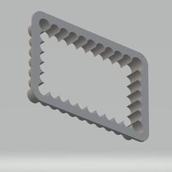 Emporte pièce PB.jpg Télécharger fichier STL Emporte pièce style petit beurre • Design pour impression 3D, cedricpct1
