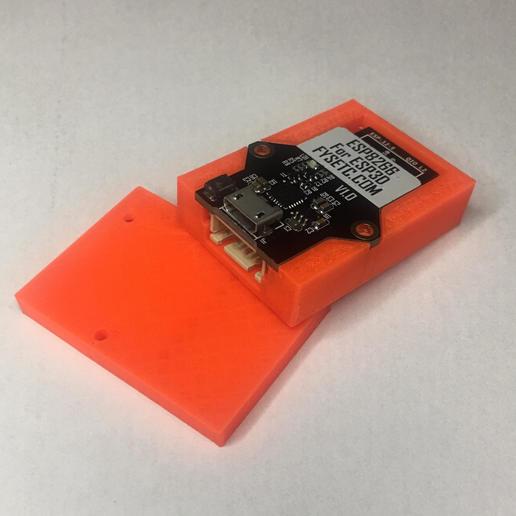 Télécharger fichier 3D gratuit Boîte ESP3D, amoudi10