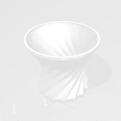 Descargar Modelos 3D para imprimir gratis Maceta retorcida, rpeti240