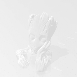 Download free 3D printing designs Babygroot, rpeti240